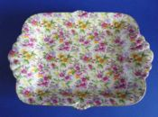 Lovely Grimwades Royal Winton 'Estelle' Chintz Large Orleans Dish c1945